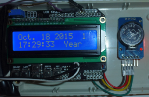 Set the DS3232 RTC clock with a simple Arduino LCD keypad interface.